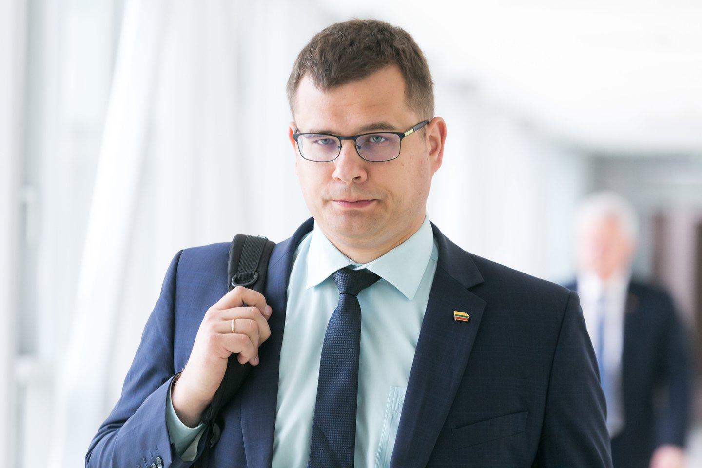 L. Kasčiūnas įvardijo didžiausias grėsmes nacionaliniam saugumui.<br>T.Bauro nuotr.