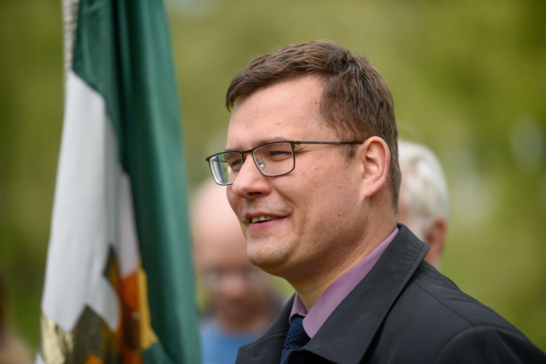 L. Kasčiūnas įvardijo didžiausias grėsmes nacionaliniam saugumui.<br>D.Umbraso nuotr.