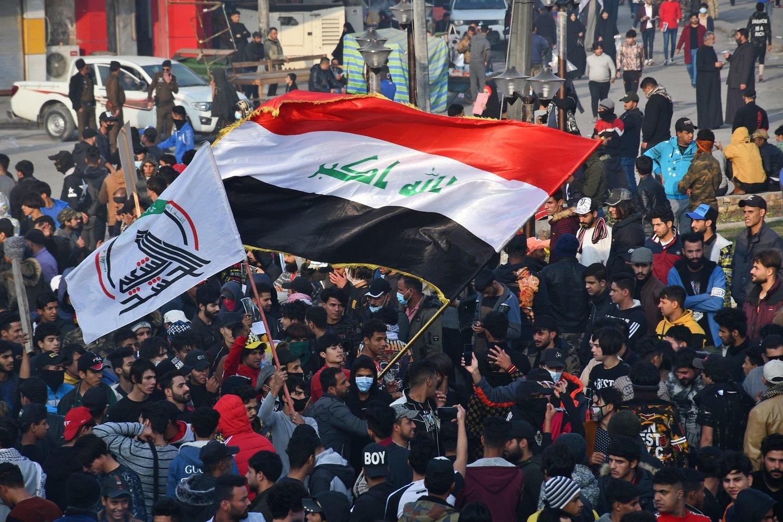 Premjeras: Irake nukauta įtakinga IS figūra.<br>AFP/Scanpix nuotr.