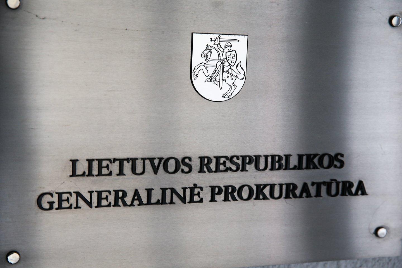 Kiekvieną atvejį nagrinėja ir sprendimus dėl pranešėjo statuso priima Generalinė prokuratūra.<br>R.Danisevičiaus nuotr.