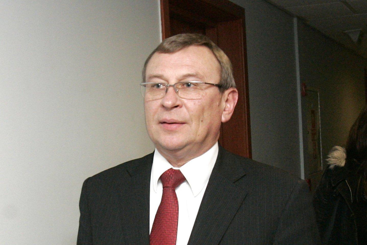Advokatas Valdemaras Bužinskas<br>V.Balkūno nuotr.