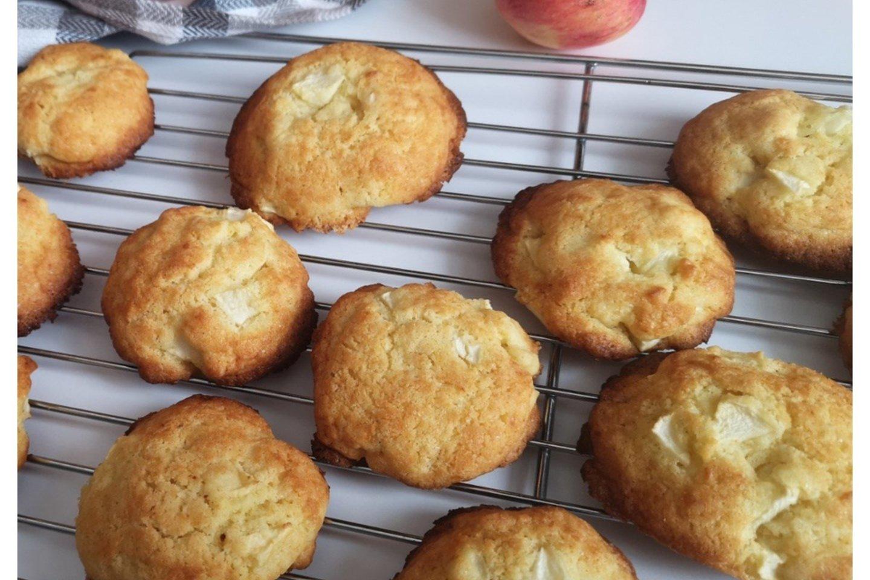 """Obuoliniai sausainiai.<br>""""Kviečiu į virtuvę"""" nuotr."""