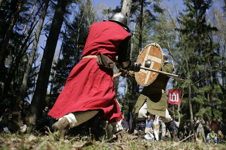 1564 m. (diena spėjama) įvyko Livonijos karo Oršos mūšis tarp Lietuvos Didžiosios Kunigaikštystės ir Rusijos kariuomenių. Jame Lietuvai pavyko sustabdyti Rusijos kariuomenės veržimąsi, laikinai buvo atkurta Rusijos ir LDK karinių jėgų pusiausvyra.<br>V.Balkūno nuotr.