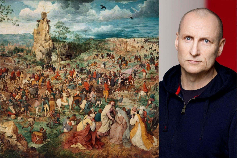 P.Bruegelio paveikslas.<br>Wikipedia nuotr.