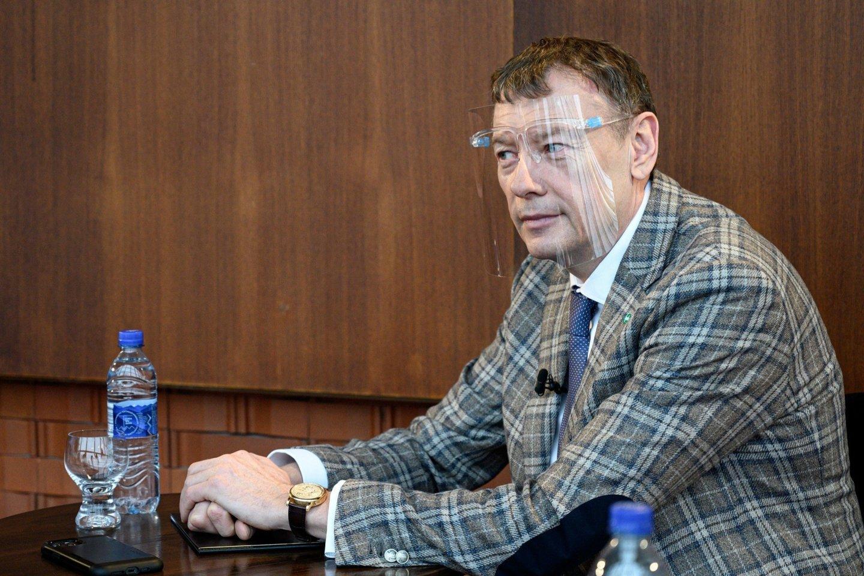Pasak V.Janulevičiaus, valdžios prašoma užtikrinti sąlygas, kurios nediskriminuotų vietos investuotojų.<br>M.Aleksos nuotr.
