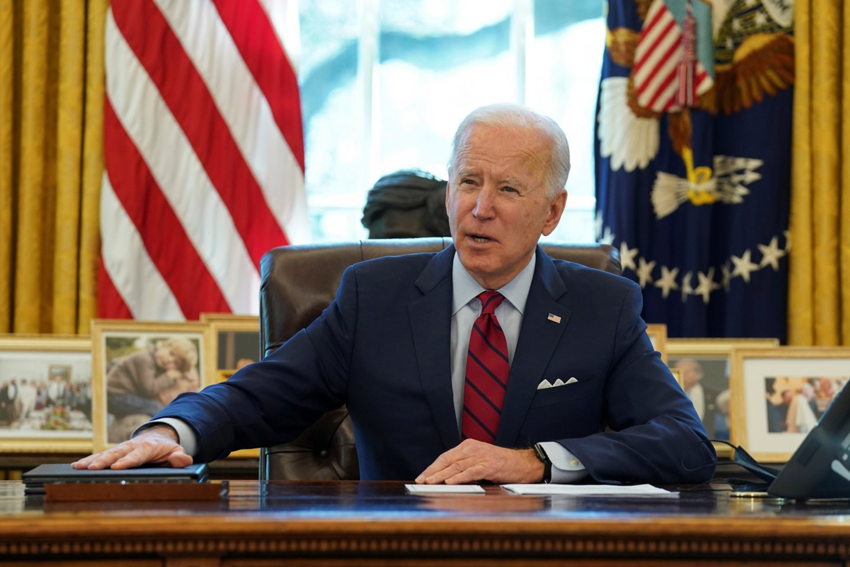 JAV prezidentas Joe Bidenas.<br>Reuters/Scapix nuotr.