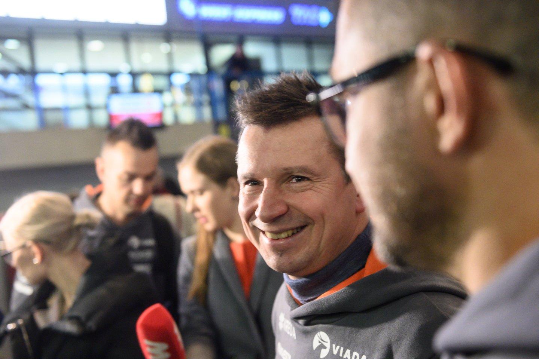 Vaidotas Žala ir Antanas Juknevičius bei jų komandos išvyksta į Dakaro ralį Saudo Arabijoje.<br>V.Skaraičio nuotr.