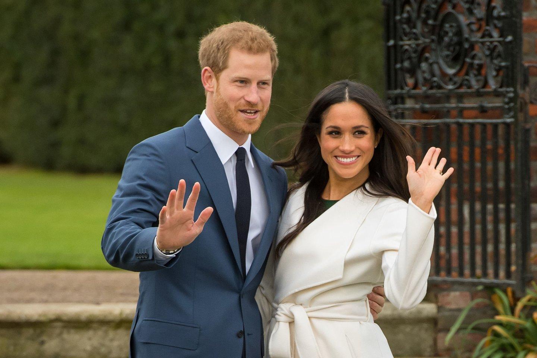 Princas Harry ir Meghan Markle.<br>Scanpix/PC nuotr.