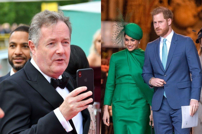 Britų žurnalistas pažėrė kritikos princui Harry: titulų atsisakė dėl garsenybių gyvenimo JAV?<br>LR koliažas.