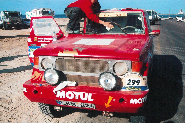 Lenktyninis automobilis nėra tik daiktas.<br>A.Juknevičiaus asmeninio archyvo nuotr.