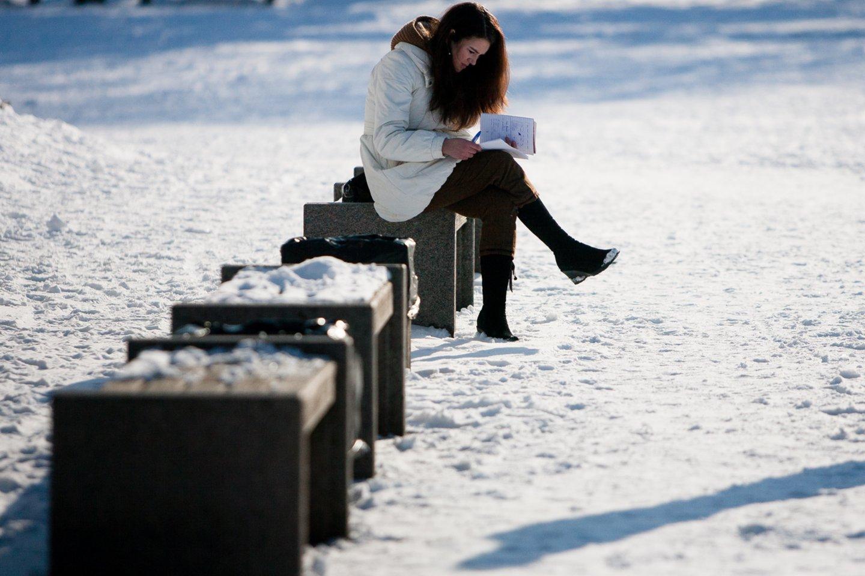 Kalendorinės žiemos pabaiga ne už kalnų.<br>J.Stacevičiaus nuotr.