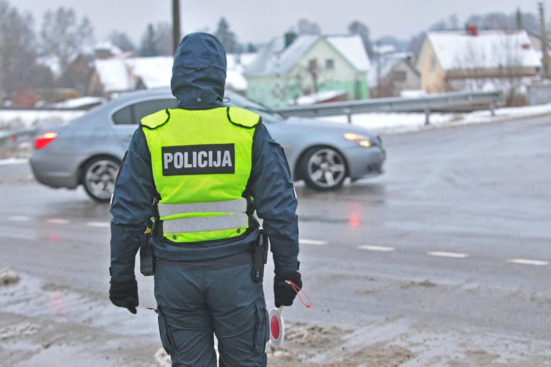 Policija.<br>A.Vaitkevičiaus nuotr.