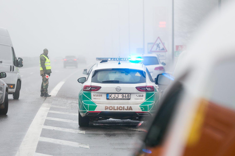 Policija.<br>T.Bauro nuotr.