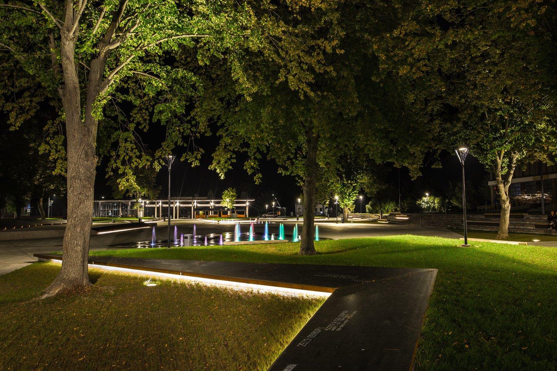 Kalvarijos miesto aikštė ir stotis. Projekto autoriai: G.Vieversys, T.Eidukevičius, L.Volungevičienė, G.Vieversytė.<br>V.Skroblo nuotr.