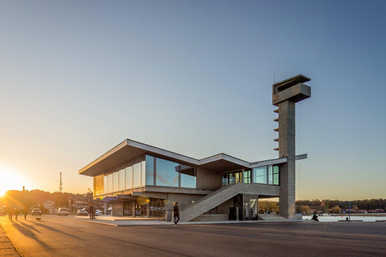 Nidos prieplaukos ( pastatytos 1976 metais pagal architekto Alfredo Paulausko projektą) rekonstrukcija. Autoriai: G.Vieversys, A.Šablevičius, E.Buikaitė.<br>A.Knašo nuotr.
