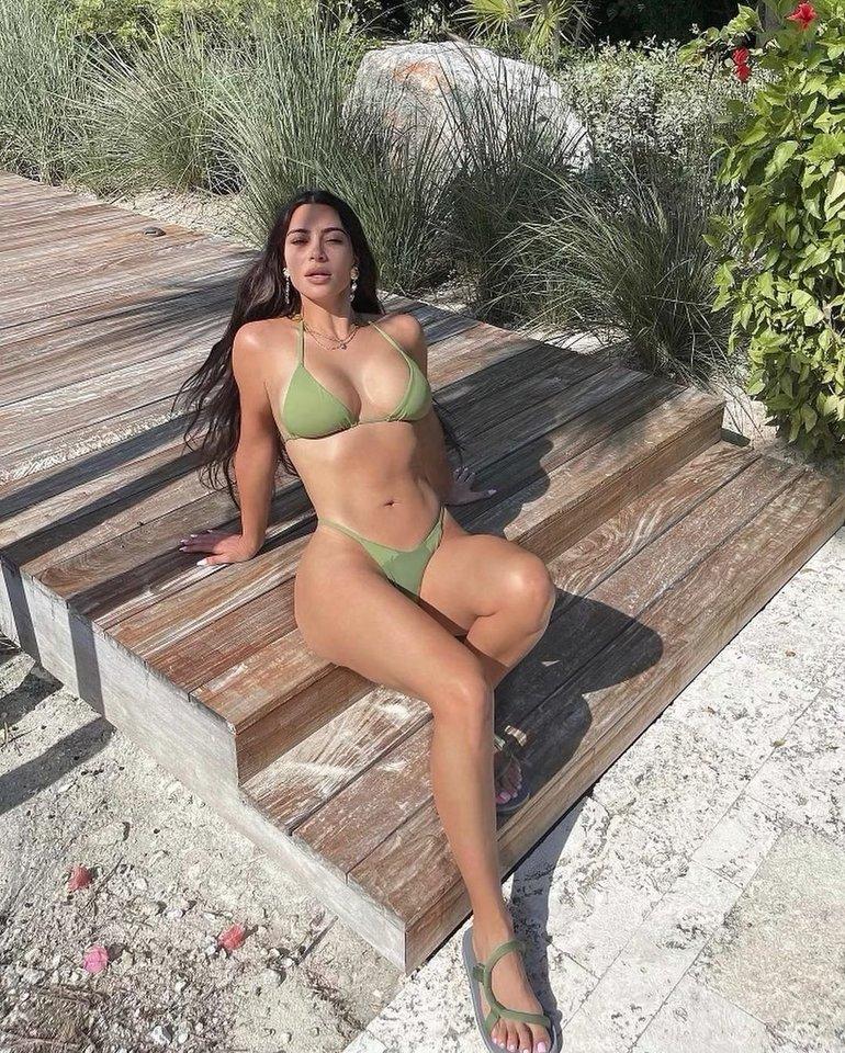 K.Kardashian.<br>Soc. tinklų nuotr.