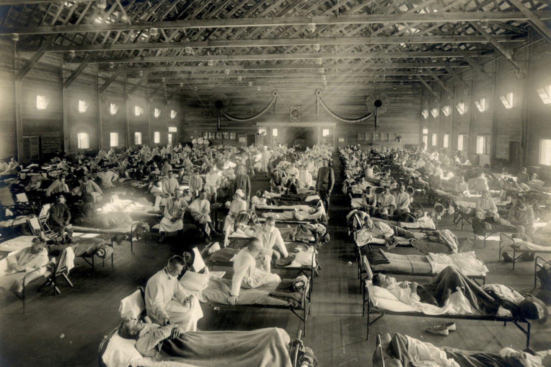 Ispaniškojo gripo pandemija.<br>Scanpix/Reuters nuotr.