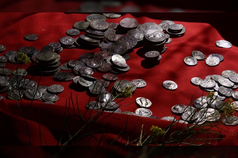 Monetos yra maždaug 2100 metų senumo.<br>E.Özer nuotr.