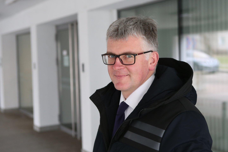 Vilniaus apygardos prokuratūros prokuroras J.Rėksnys įrodė savo tiesą.<br>R.Danisevičiaus nuotr.