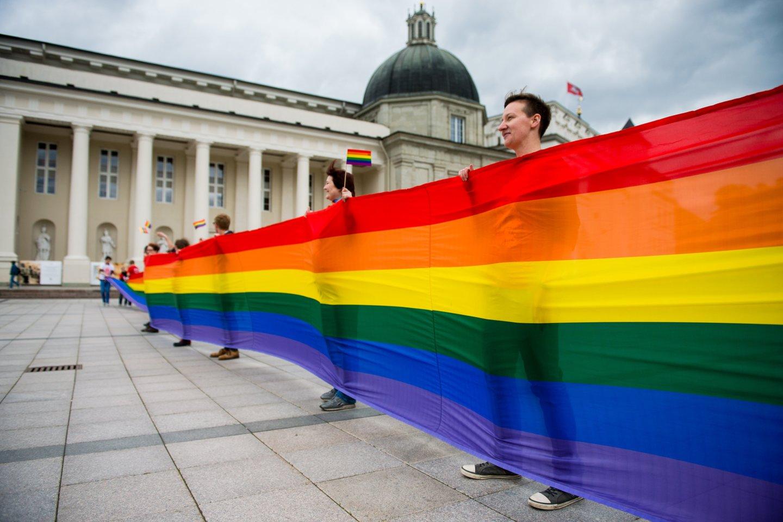 Lietuva yra viena iš šešių Europos Sąjungos valstybių, kurioje tos pačios lyties porų santykiai nėra niekaip reglamentuoti.<br>J.Stacevičiaus asociatyvi nuotr.