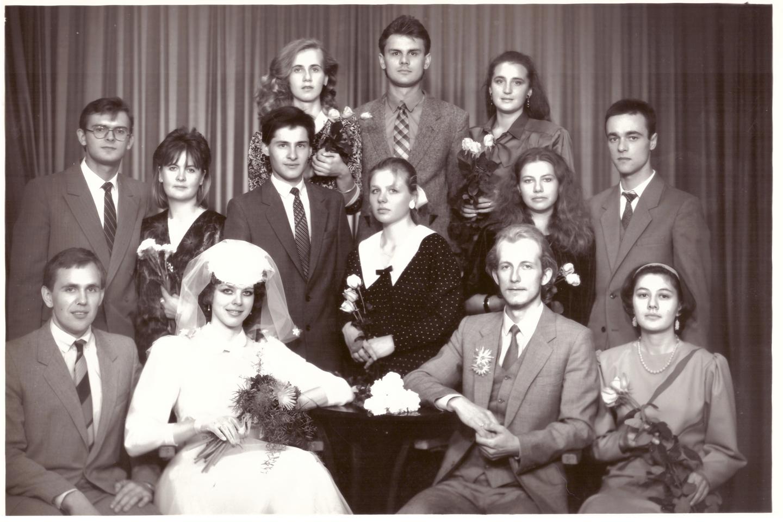Valinskų vestuvių akimirka.<br>Asmeninio archyvo nuotr.