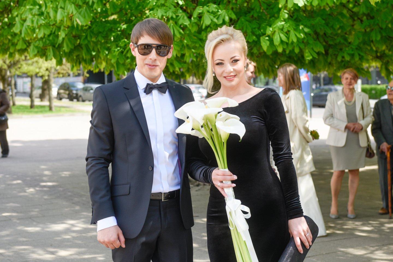 Mia ir Nerijus Antanavičius.<br>D.Umbraso nuotr.