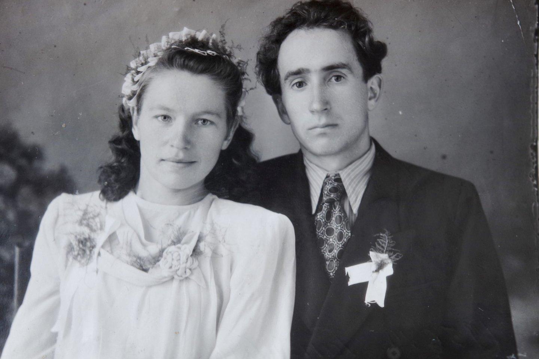 Jakavonių vestuvės vyko Sibire.<br>Asmeninio archyvo nuotr.