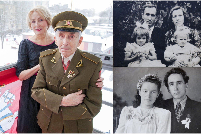 Šiuo metu J.Jakavonis-Tigras gyvena pas dukrą Angelę Vilniuje.<br>Lrytas.lt koliažas.