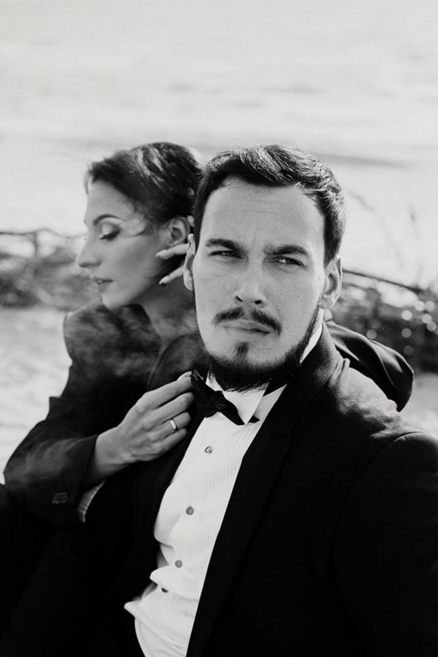 Edgaras Bechteris su žmona Modesta.<br>A.Būtvydės nuotr.