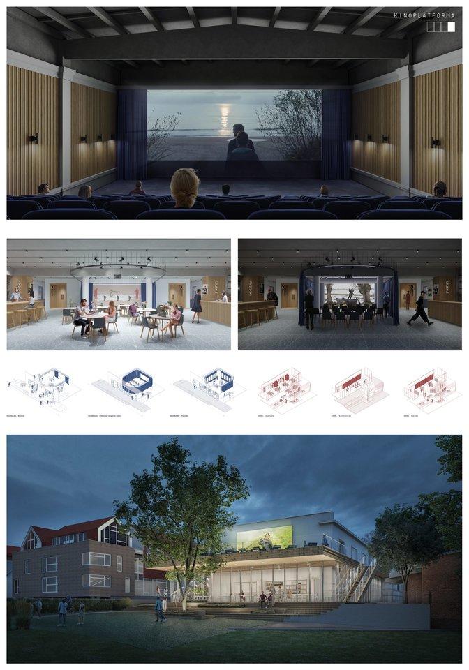 """Projektas """"Kinoplatforma"""".<br>Vizual."""