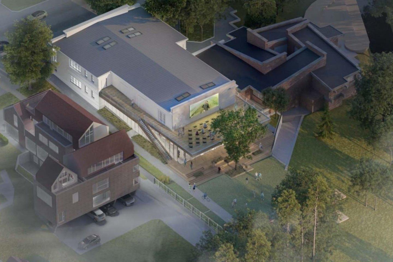 """Kino teatro """"Naglis"""" pritaikymo regioninės filmotekos reikmėms architektūrinio projekto konkursui pateikti 7 projektai. Projektiniai pasiūlymai nuo vasario 15 d. eksponuojami Architektų sąjungos pastato antro aukšto atriume (Kalvarijų g. 1).<br>Vizual."""