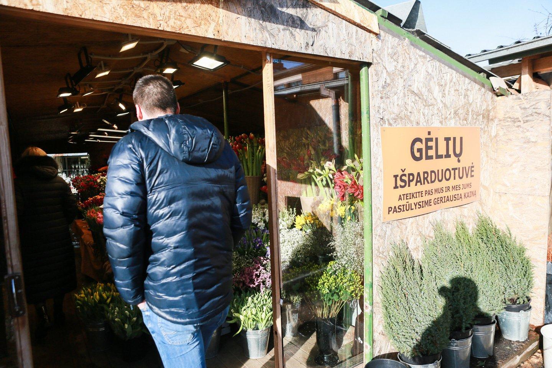 Visų ne maisto prekių parduotuvių veikla buvo uždrausta nuo gruodžio 16 dienos, kuomet Lietuvoje dėl prastos epidemiologinės situacijos buvo sugriežtintas karantinas.<br>G.Bitvinsko nuotr.
