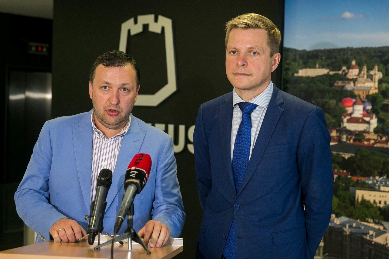 Antanas Guoga, Šimašius Remigijus.<br>T.Bauro nuotr.