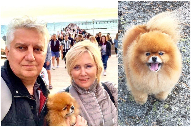 Žinomai šeimai teko išgyventi šuns dramą.<br>Asmeninio archyvo nuotr.