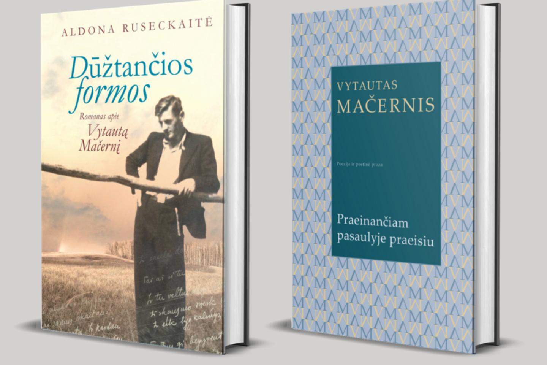 Lietuvos rašytojų sąjungos leidykla pakartotinai išleido net dvi knygas, kurios leis artimiau susipažinti su poeto V.Mačernio gyvenimu ir kūryba.