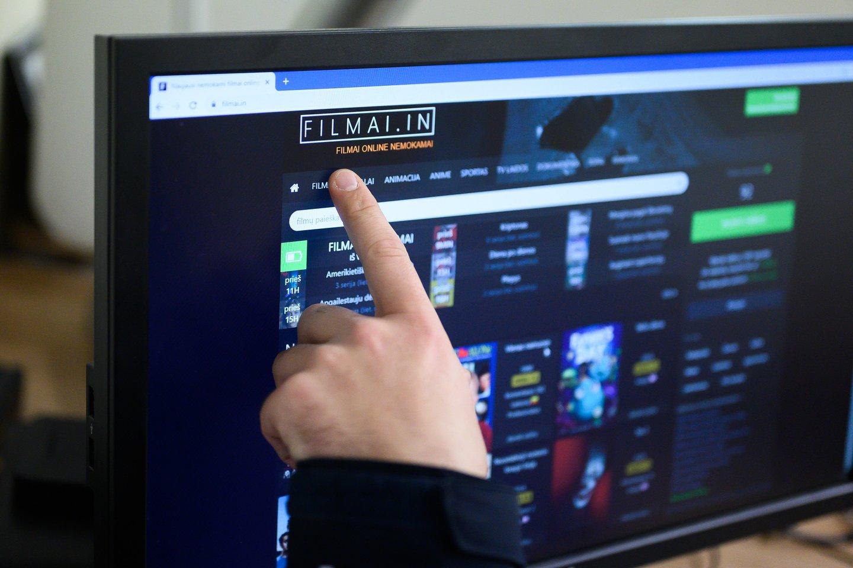 """Programišiai nutekino 650 tūkst. """"Filmai.in"""" prisijungimo vardų ir slaptažodžių.<br>V.Skaraičio nuotr."""