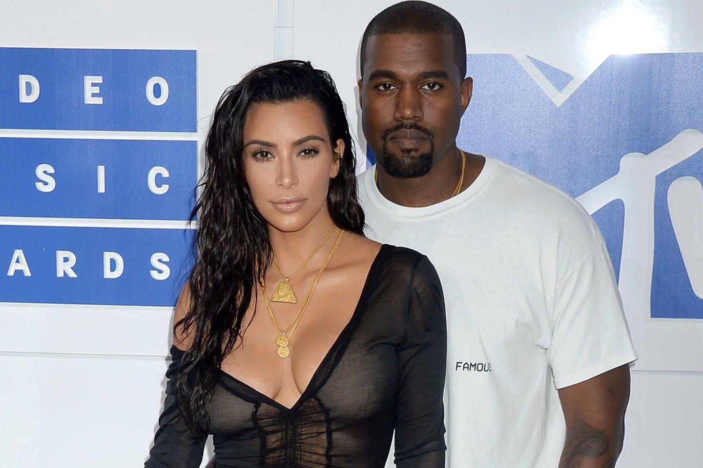 K.Kardashian ir K.Westas santuokoje gyveno 7 metus.<br>Scanpix nuotr.