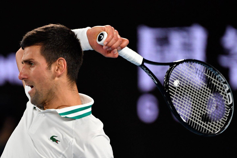 "N.Džokovičius triumfavo ""Australian Open"" turnyre.<br>Scanpix nuotr."