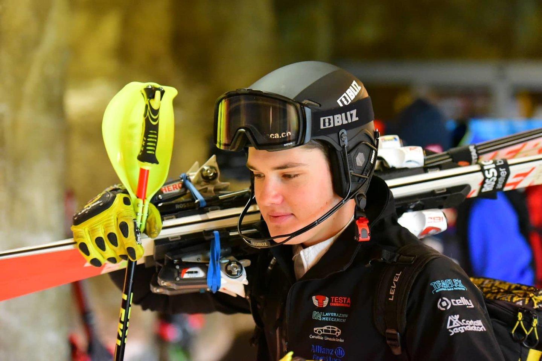 Geriausias Lietuvos kalnų slidininkas Andrejus Drukarovas.<br>A.Pustovito nuotr.