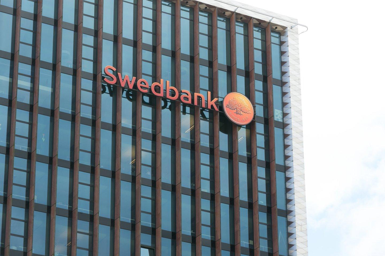 """""""Swedbank"""" Lietuvoje valdybos pirmininkė Dovilė Grigienė palieka organizaciją.<br>T.Bauro nuotr."""