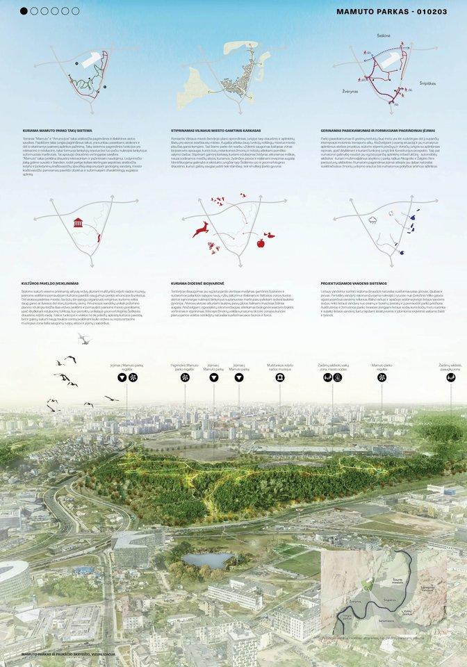 "Projektas ""Mamuto parkas""<br>Vizual."