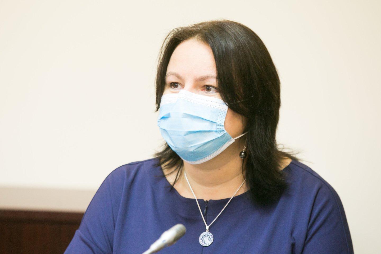Stebimi tam tikri nerimą keliantys signalai, pirmadienį sakė vyriausioji šalies epidemiologė Loreta Ašoklienė.<br>T.Bauro nuotr.