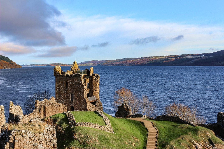 Lochneso ežeras Škotijos aukštumose.<br>123rf nuotr.