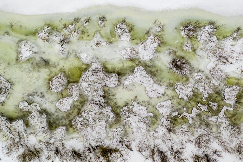 Nemunas,žiema,ledas,orai<br>V.Ščiavinsko nuotr.