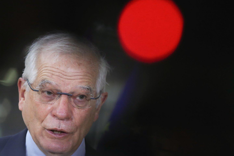 ES užsienio politikos vadovas Josephas Borrellis.<br>Reuters/Scanpix nuotr.