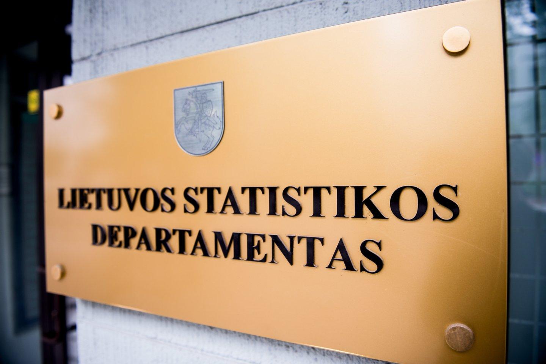 Statistikos departamentas.<br>J.Stacevičiaus nuotr.