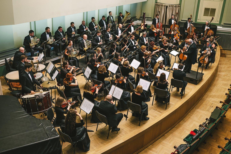 Kauno miesto simfoninis orkestras.<br>KMSO archyvų nuotr.