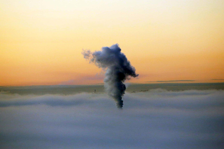 Oro užterštumas.<br>M.Patašiaus nuotr.