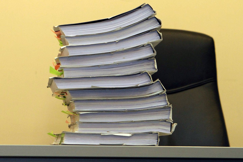 Gineikaitė Daiva, teismas, byla, nuosprendis, dokumentai, įrodymai, tomai<br>M.Patašiaus nuotr.