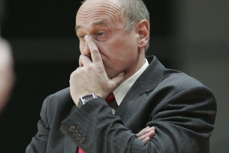 Buvęs Lietuvos moterų krepšinio rinktinės treneris Algirdas Paulauskas<br>M.Kulbis
